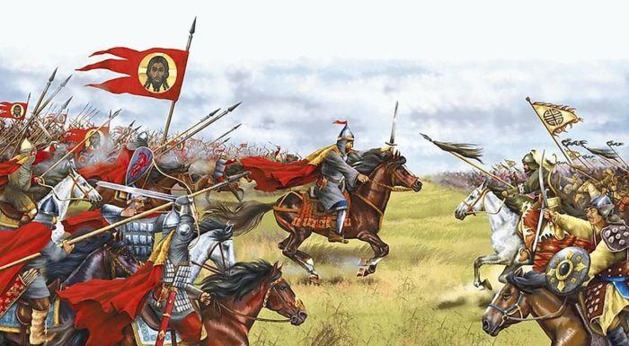 Донское побоище - один из последних триумфов конницы рыцарского типа. |Фото: aeslib.ru.