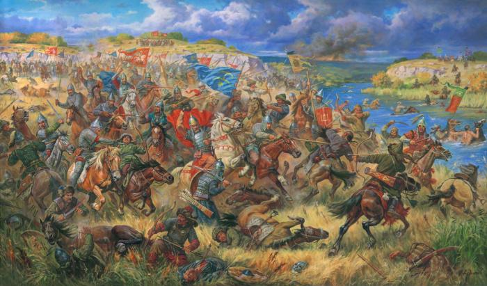 Чуть раньше прибалтийские и славянские князья побили татар на Синих Водах. |Фото: artchive.ru.
