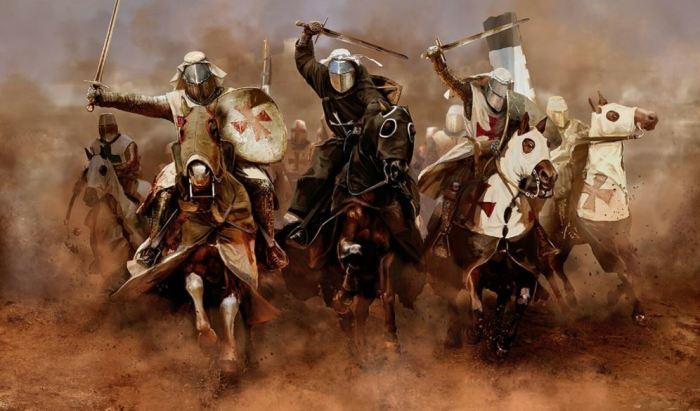 Крестоносцы и вовсе имели огромный опыт борьбы с легкой конницей. |Фото: joyreactor.cc.