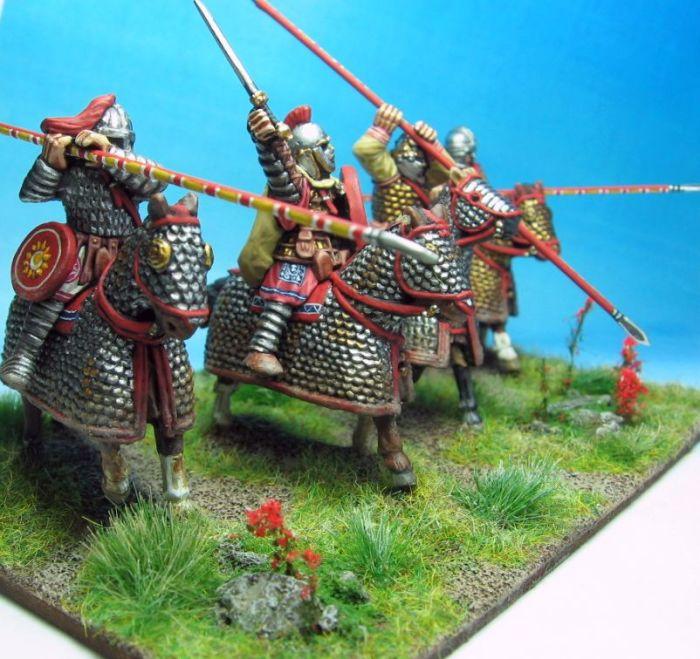 Моду на тяжелую конницу задала Византия. |Фото: yandex.ua.