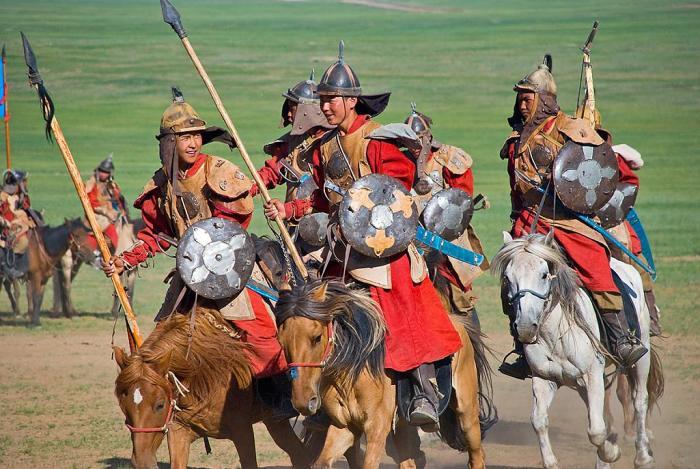 Примерно так выглядела большая часть конницы татар в 13 веке. |Фото: fotogl.com.