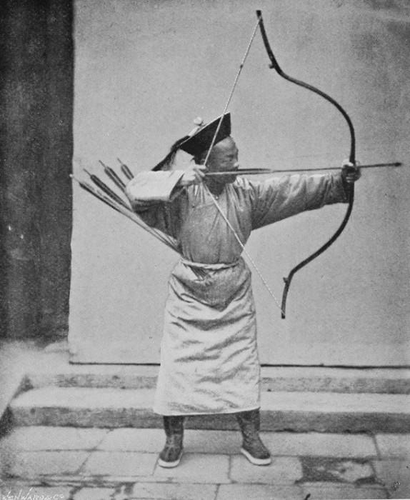 Стрельба из лука входила в так называемые «шесть благородных искусств».