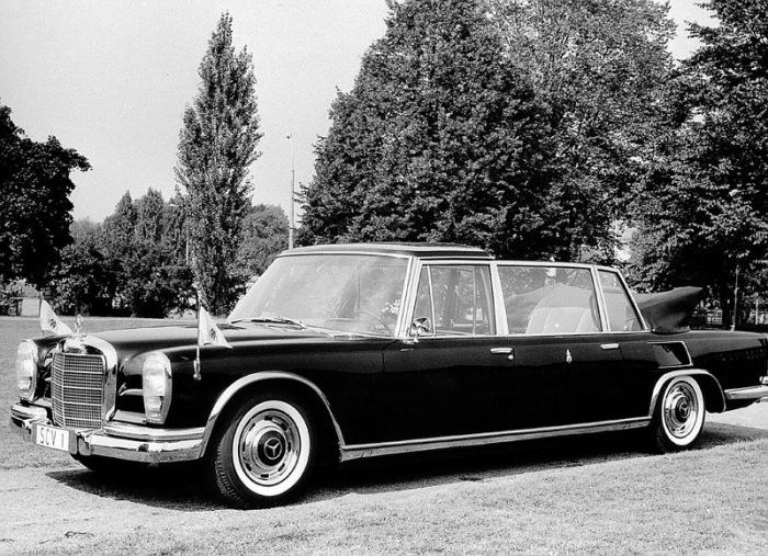 M ercedes-Benz 600 Папs Павла VI.