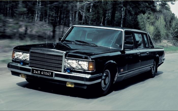 ЗиЛ 41047 - самый известный советский правительственный автомобиль.