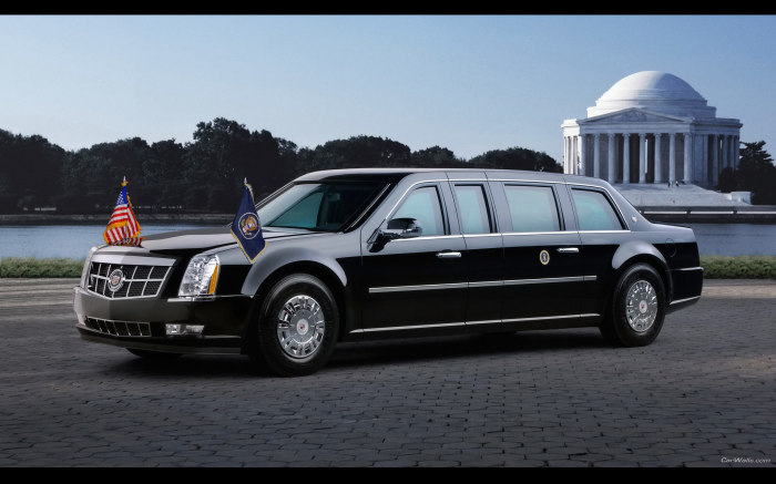 Cadillac One - автомобиль американских президентов.