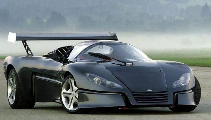 Автомобиль Sbarro GT-1.