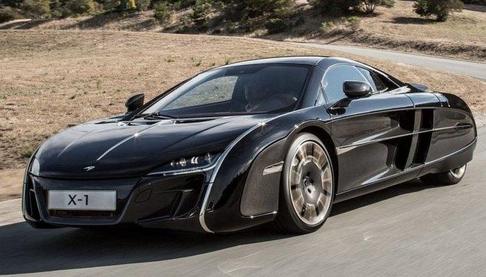 Автомобиль McLaren X-1 Concept.
