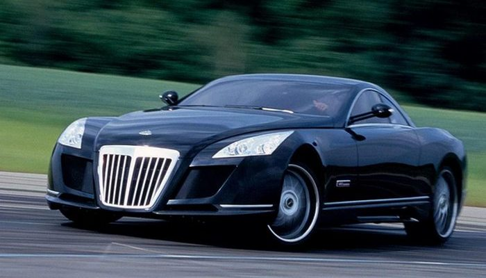 Автомобиль Maybach Exelero.