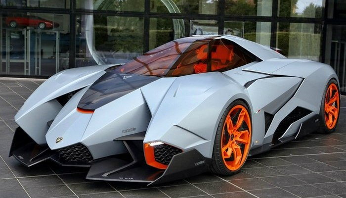 Автомобиль Lamborghini Egoista Concept.