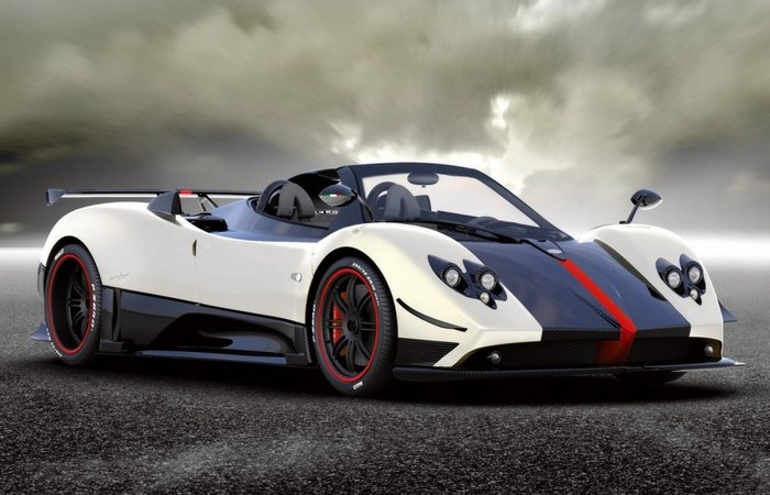 Zonda Cinque Pagani Roadster.