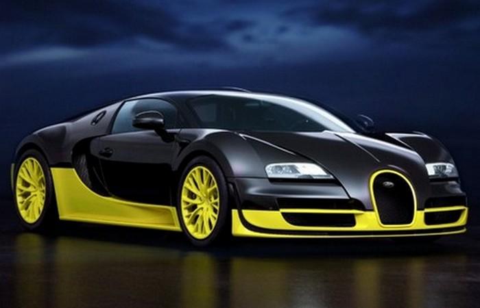 Bugatti Veyron Super Sports.
