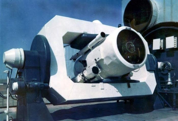 Это был лазерный радар.