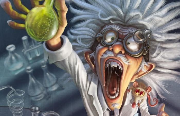 Безумные эксперименты...