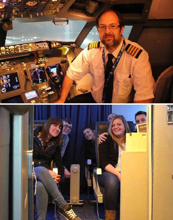 Точная копия салона «Боинга 737».