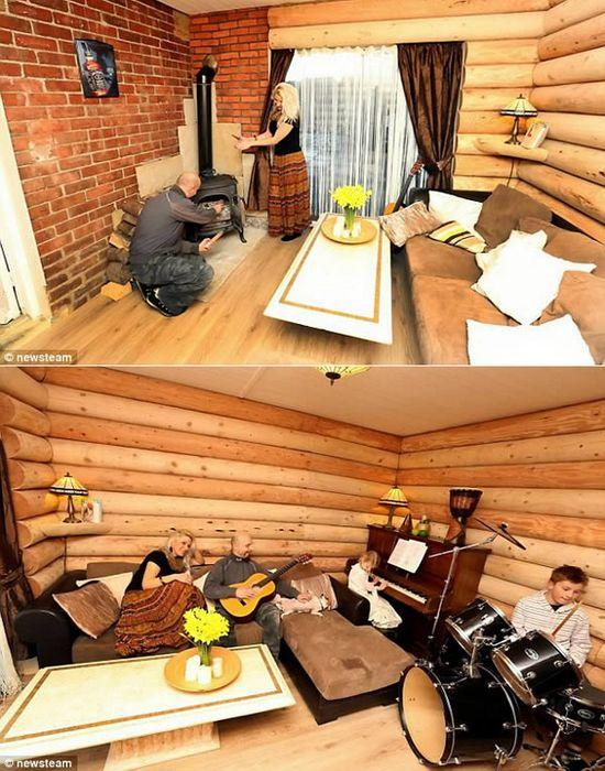«Маленький домик в прериях» в городке Ертлингборо.