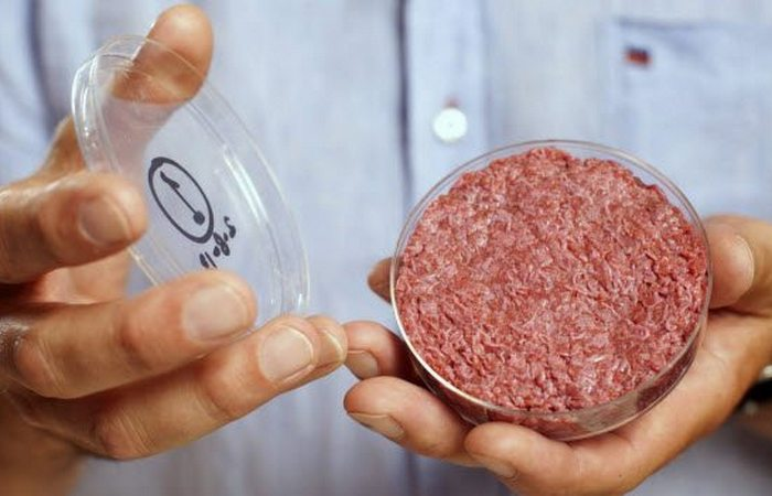Выращено в лаборатории: гамбургер.