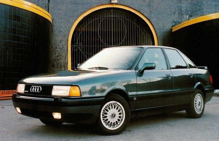 Родом из 90-х: AUDI 80.