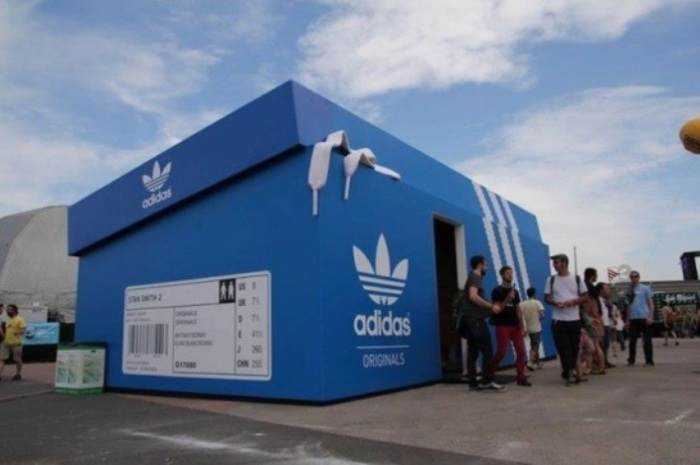 Выглядит как коробка, а на деле - магазин.