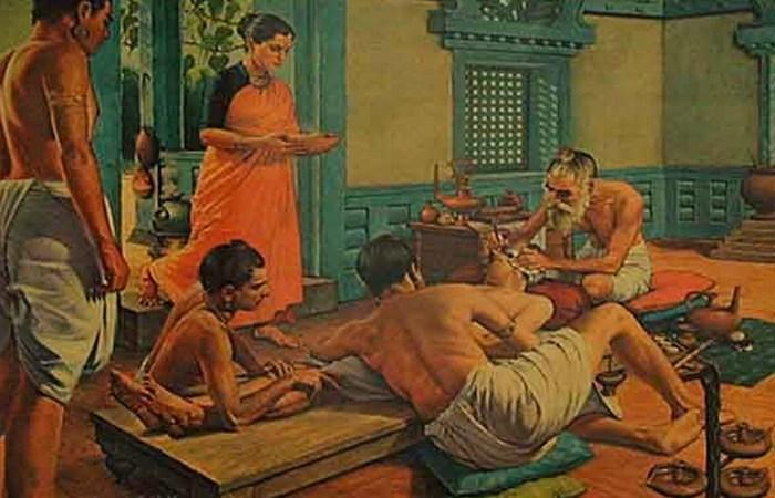 Пластическая хирургия в Древней Индии.