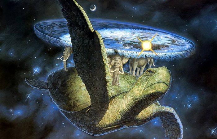 Место Земли во Вселенной.