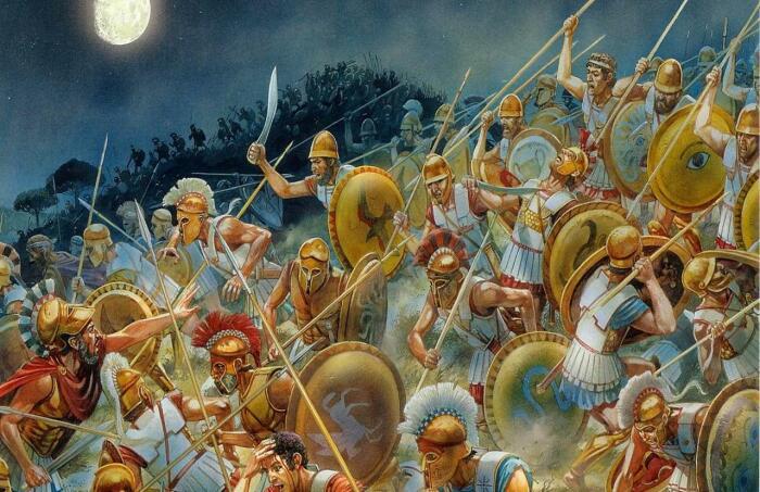 Пока греки резали друг друга в пелопонесской войне Македония росла и крепчала.  Фото: wargaming.net.