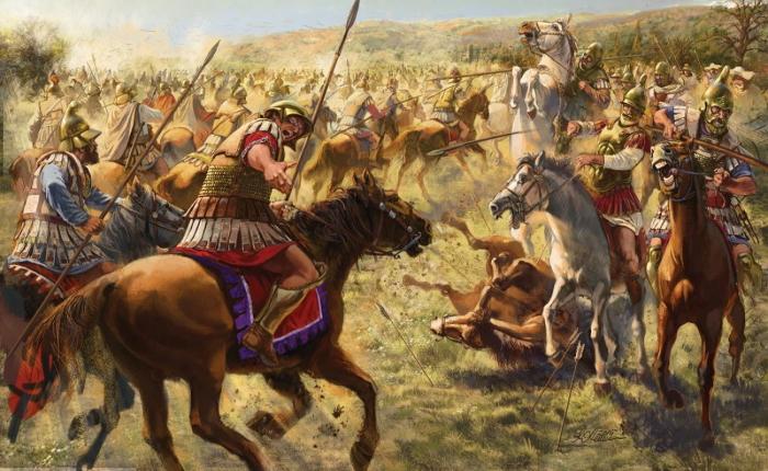 Александр успеет построить империю и умереть, а его диодохи не раз успеют перегрызть друг друга, прежде чем Рим возвысится.  Фото: u-teti-soni.blogspot.com.