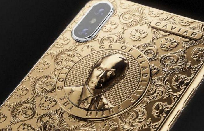 Российский бренд создал iPhone в защиту Путина.