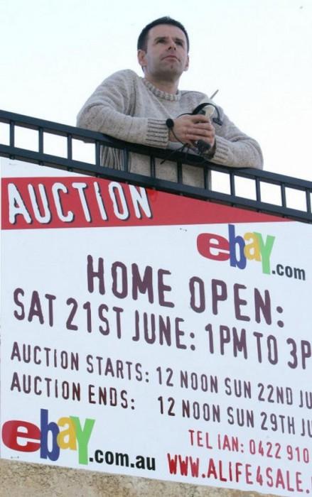 Сделка с eBay($ 305 000) - проданно: дом, место работы, друзья(возможность  познакомиться). Аминь товарищи.