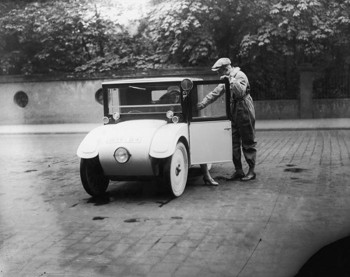 Немецкий малолитражный автомобиль Hanomag Kommissbrot. 1928 г.