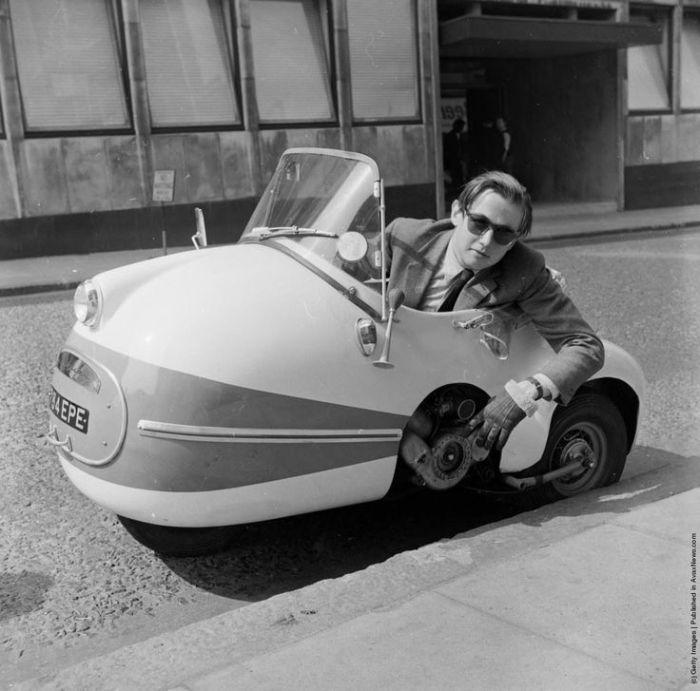 Малолитражка 50cc Mopetta.