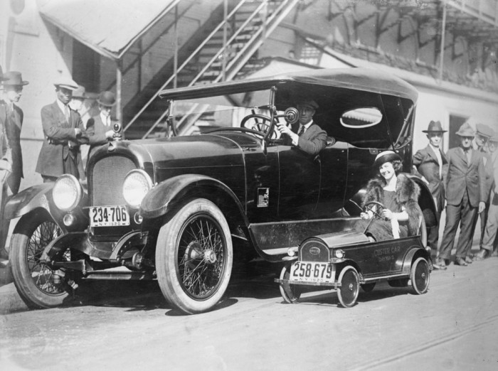 Custer - самый маленький американский автомобиль.