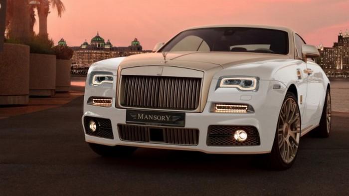 Автомобиль Rolls Royce Wraith Palm Edition 999.