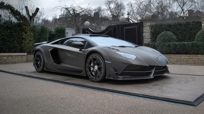 Автомобиль Lamborghini Aventador SV: J.S.1 Edition.