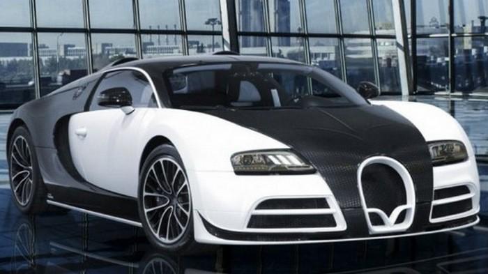 Автомобиль Bugatti Veyron Mansory Vivere Edition.