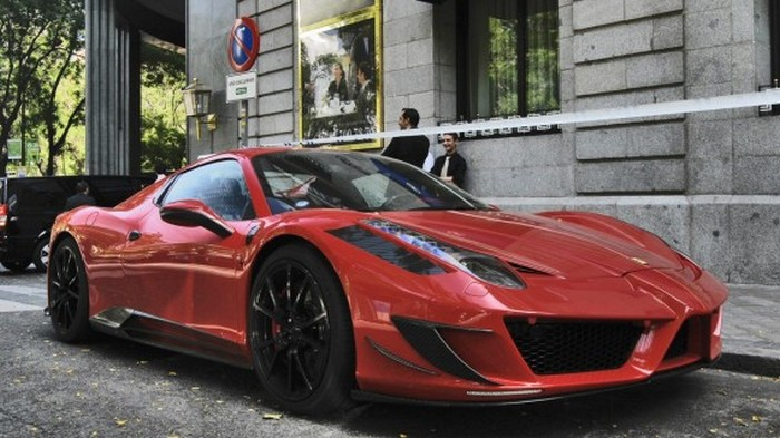 Автомобиль 458 Spider Monaco Edition.