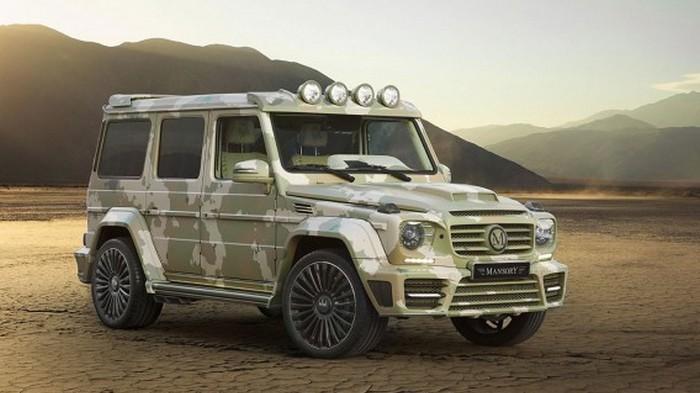 Автомобиль Mercedes G63 Sahara Edition.