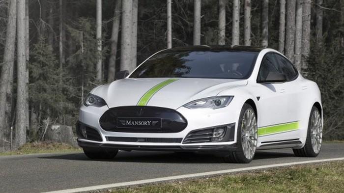 Автомобиль Mansory Tesla Model S.