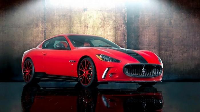 Автомобиль Mansory Maserati Gran Turismo.