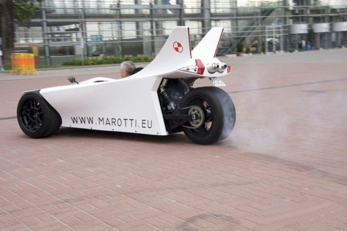 Marotti: скорость и безопасность.