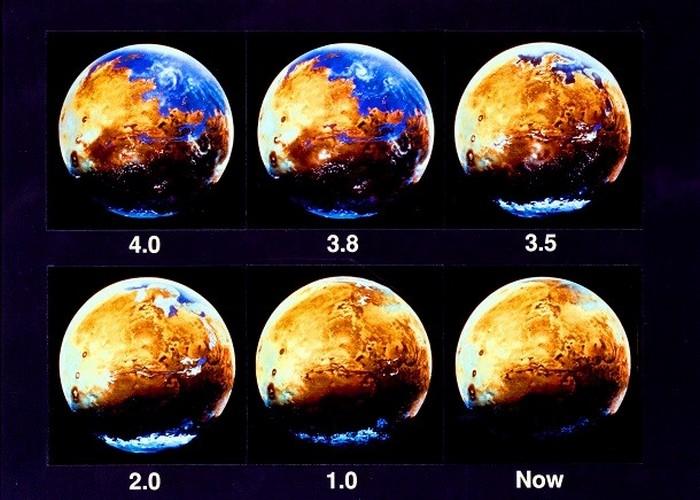 История марсианской воды.