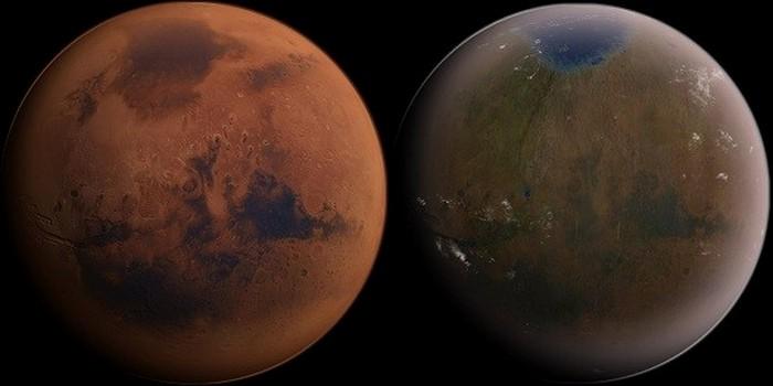 Глобальное потепление на Марсе.