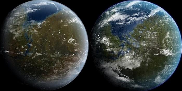 Планета будет покрыта водой.