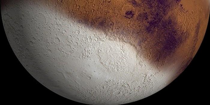 Жидкая вода «покинула » Марс.