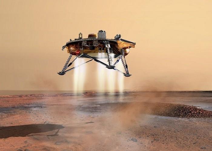Стационарный марсоход Phoenix.