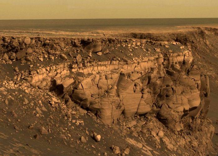 Негостеприимный Марс.
