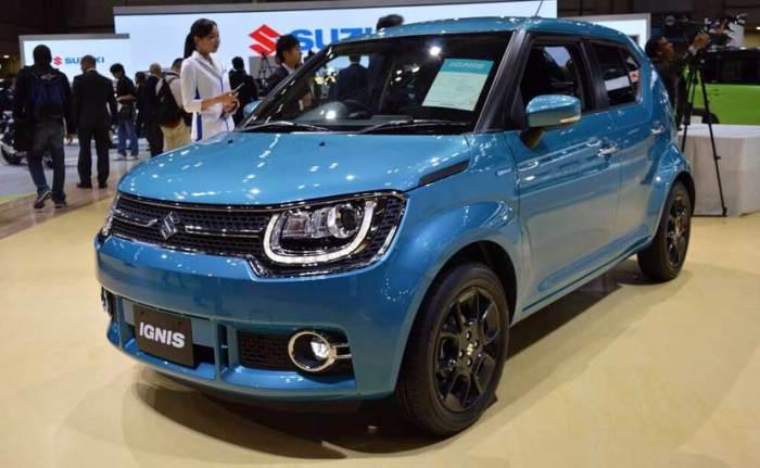 Maruti Suzuki Ignis - для дружной такой компании.