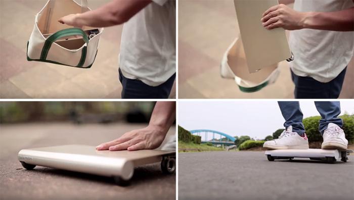 Компактный аналог досок-скутеров Segway.