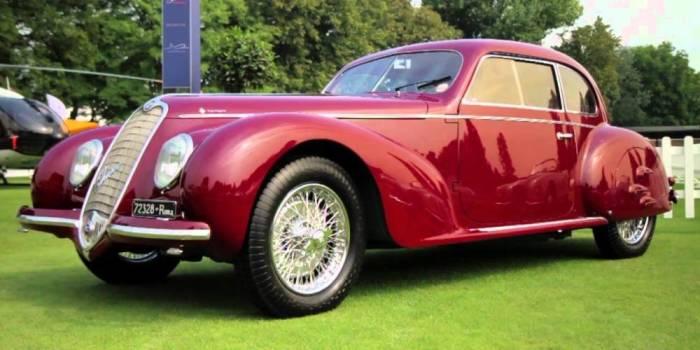 Лидер итальянских фашистов выбрал для себя Alfa Romeo 6c Sport Berlinetta.