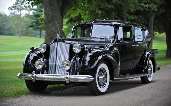 Сталину очень нравился подарочный Packard Twelve.