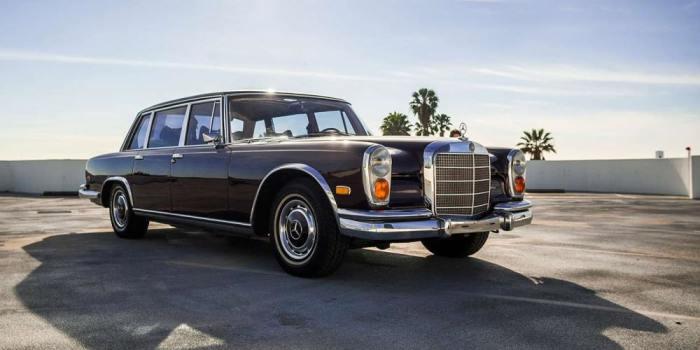 Лидер Ирака предпочел Mercedes Benz 600 Landaulet.